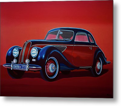 Emw Bmw 1951 Painting Metal Print by Paul Meijering