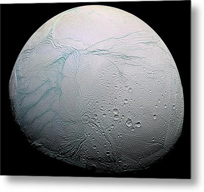 Metal Print featuring the photograph Enceladus Hd by Adam Romanowicz