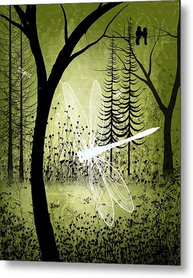 Enchanted Metal Print by Charlene Zatloukal