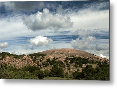 Enchanted Rock Rocks Metal Print by Karen Musick
