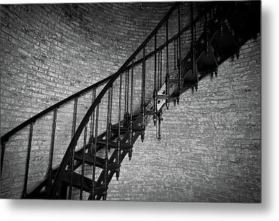 Metal Print featuring the photograph Enchanted Staircase II - Currituck Lighthouse by David Sutton