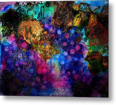 Enchanted Vineyard Metal Print by Anne Duke