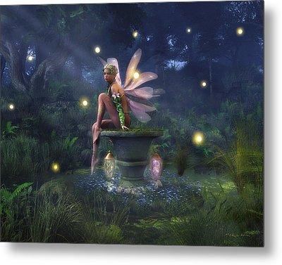 Enchantment - Fairy Dreams Metal Print by Melissa Krauss