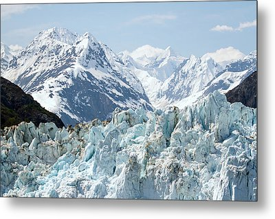 Glaciers End Of A Journey Metal Print