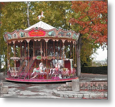 Metal Print featuring the photograph End Of A Season by Victoria Harrington