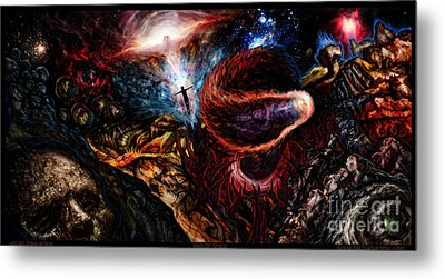End Of Space Metal Print