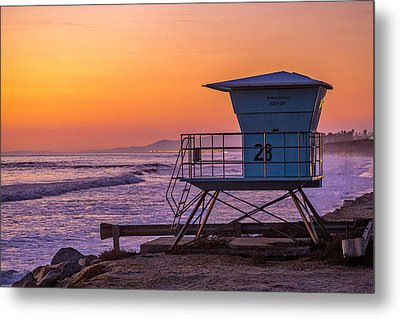 End Of Summer Metal Print by Peter Tellone