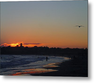 End Of The Island Day. Metal Print by Robert Nickologianis
