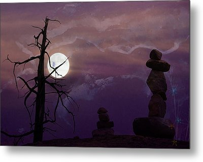 End Of Trail Metal Print