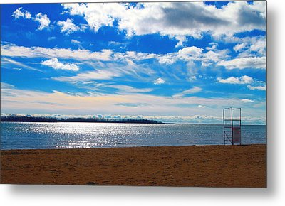 Metal Print featuring the photograph Endless Sky by Valentino Visentini