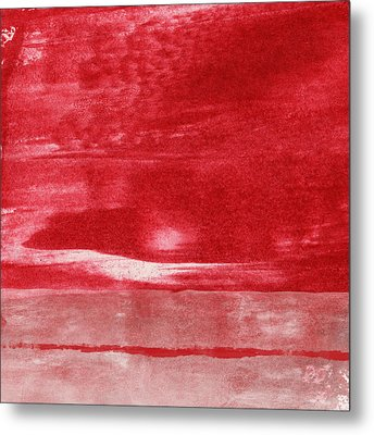 Energy- Abstract Art By Linda Woods Metal Print by Linda Woods