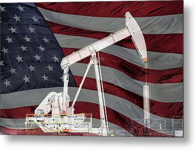 Energy Independence  Metal Print by JC Findley
