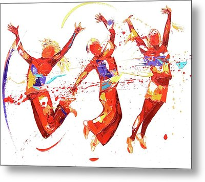 Energy Metal Print by Penny Warden
