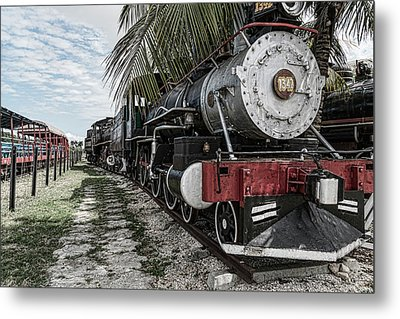 Engine 1342 Parked Metal Print