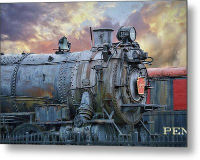 Metal Print featuring the photograph Engine 3750 by Lori Deiter