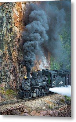 Engine 480 Metal Print by Inge Johnsson