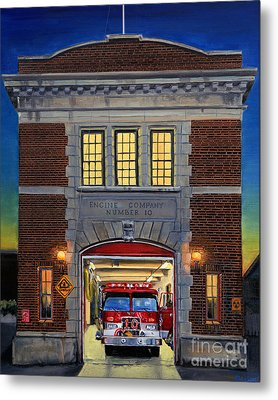 Engine Company 10 Metal Print by Paul Walsh