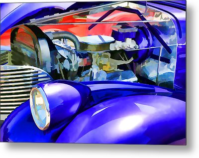Engine Compartment 11 Metal Print by Lanjee Chee