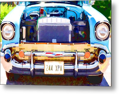 Engine Compartment 12 Metal Print by Lanjee Chee