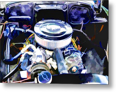 Engine Compartment 2 Metal Print by Lanjee Chee
