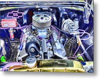 Engine Compartment 3 Metal Print by Lanjee Chee