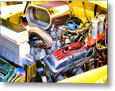 Engine Compartment 5 Metal Print by Lanjee Chee