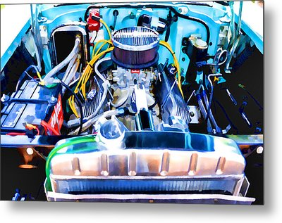 Engine Compartment 7 Metal Print by Lanjee Chee