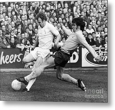 England: Soccer Match, 1972 Metal Print by Granger