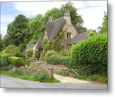 English Beauty Metal Print
