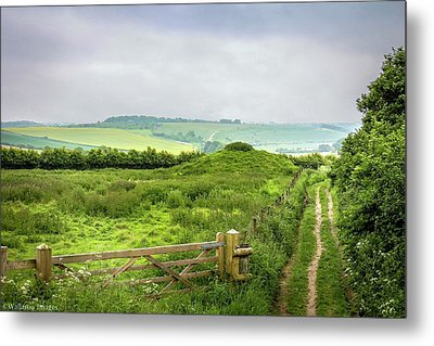 English Country Landscape 2 Metal Print