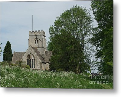 English Country Spring Metal Print by Catja Pafort