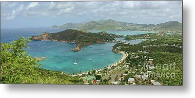 English Harbour Antigua Metal Print