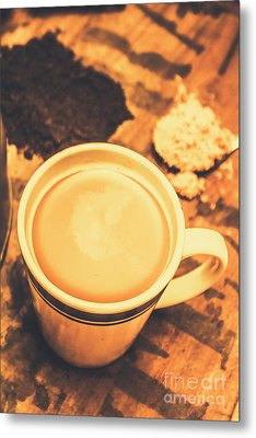 English Tea Breakfast Metal Print
