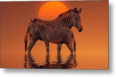 Enjoy Life Metal Print by Gabriella Weninger - David