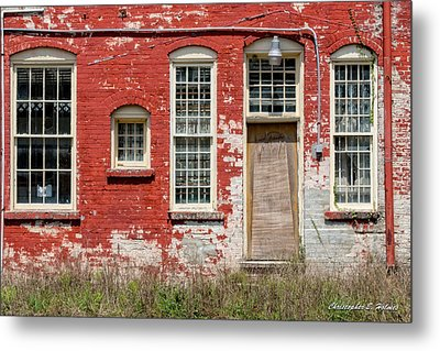 Metal Print featuring the photograph Enough Windows by Christopher Holmes