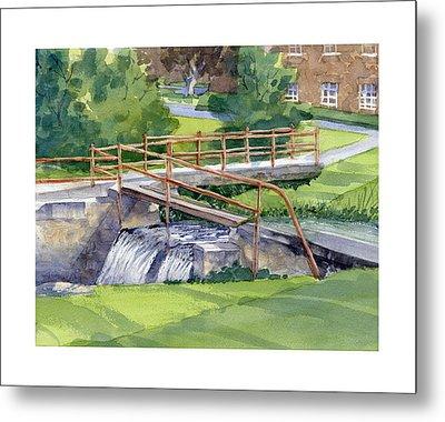 Ensign - Bickford Waterfall Metal Print
