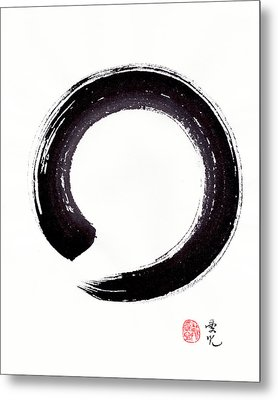 Enso - Embracing Imperfection Metal Print