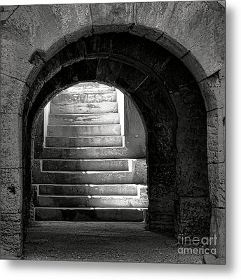Metal Print featuring the photograph Enter The Arena by Olivier Le Queinec