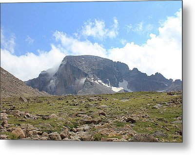 Metal Print featuring the photograph Entering The Boulder Field by Christin Brodie