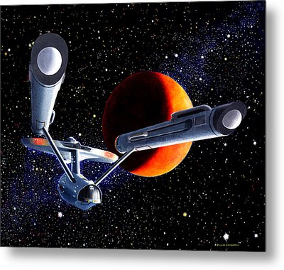 Enterprise Metal Print by Douglas Castleman
