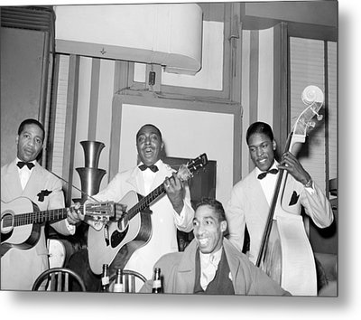 Entertainers At Negro Tavern. Chicago Metal Print