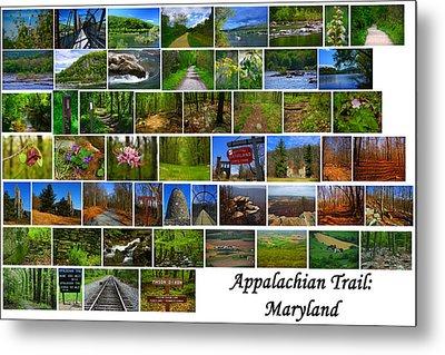 Entire Maryland Section Of The Appalachian Trail Metal Print by Raymond Salani III