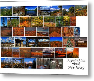 Entire New Jersey Section Of The Appalachian Trail Metal Print by Raymond Salani III