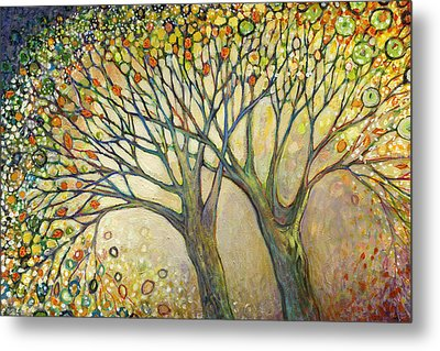 Entwined No 2 Metal Print by Jennifer Lommers