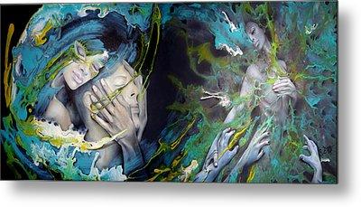 Envied Love Metal Print by D'Art Studio