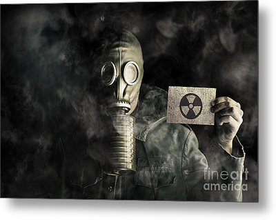 Environmental Pollution Concept Metal Print by Jorgo Photography - Wall Art Gallery