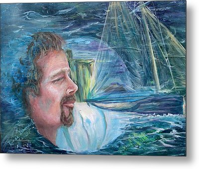 Envisioned Voyage Metal Print by Renee Dumont  Museum Quality Oil Paintings  Dumont