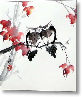 Envoy Of Fall Metal Print by Ming Yeung