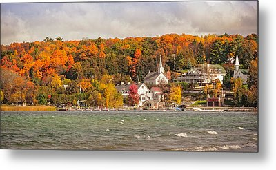 Metal Print featuring the photograph Ephraim Wisconsin In Door County by Heidi Hermes