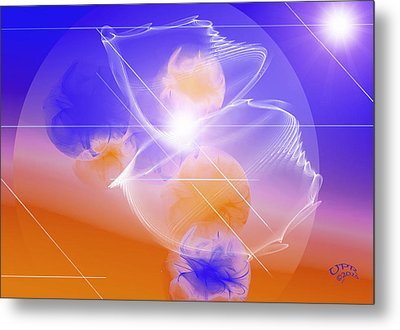Metal Print featuring the digital art Epiphany by Ute Posegga-Rudel